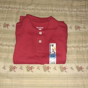Other - Toddler Boy Red Polo